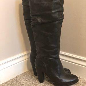 Aldo Black Slouch Boots